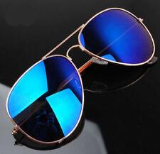 New Aviators Sunglasses Unisex 80s Fashion Retro Designer Shades Vintage Glasses