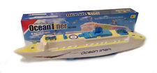 Nuevo barco crucero Ocean Liner eléctrico intermitente LED luces y efectos de sonido Reino Unido