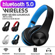 bluetooth 5.0 Kopfhörer On-Ear Stereo Kopfhörer Wireless Faltbar Headset