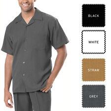 NEW MONTIQUE MEN 2 PCS SET Luxury Linen Casual Design Color Walking Suit 696