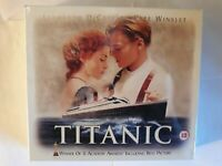 TITANIC COLLECTORS BOX 2 VHS TAPES **NEW SEALED** ~ HTF RARE OOP Collectable