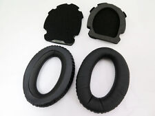 Leather Ear Cushion pads for BOSE Aviation Headset X A10 A20 Black New