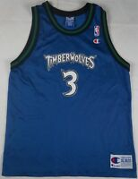 ff5194dac4c Rare VTG CHAMPION Stephon Marbury Minnesota Timberwolves NBA Jersey 90s  Kids XL