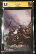 Z NATION 2 VIRGIN E VARIANT CGC 9.8 SIGNED BY LUCIO PARRILLO  ONLY SS ON CENSUS!