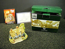 Lilliput Lane Piggy Bank From The British Collection 2000 Nib & Deeds L2359