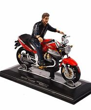 BULL DOG BIKER FIGURE AMERICAN DIORAMA 23914 1:24 SCALE NEW BIKE NOT INCL