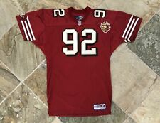 Vintage San Francisco 49ers Authentic Reebok Procut Football Jersey, Size XL