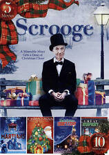 5-Movie Featuring Scrooge with Bonus Holiday MP3