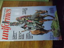 8µ? Revue Uniformes n°101 Alfred de Vigny Armurerie medievale Cadre noir Saumur