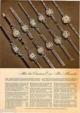 1950 ADVERT 3 PG Buren Wrist Watch Gruen Men's Ladies' Veri Thin Models