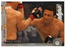 2015 Topps UFC Chronicles Silver Parallel #97 Renzo Gracie