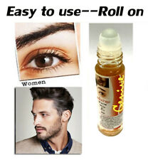 10ml Roll on Genive NATURAL HERB Hair Growth Stimulating Serum Eyelash Eyebrow