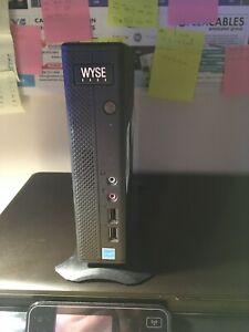 Dell WYSE Z90D7 mini pc 1.65GHz DC CPU. 0GB. 8GB SSD. USB 3.0. No PS. Barebones.