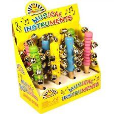 MUSICAL JINGLE BELL BASTONI strumenti con colori assortiti per bambini