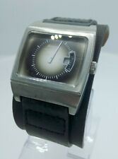 Fossil Authentic JR8846 men's watch jump hour vintage look leather JR-8846 5ATM
