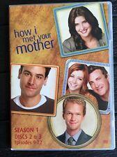 How I Met Your Mother Season 1 DVD 2006 Discs 2&3 Episodes 9-22 Replacement Disc