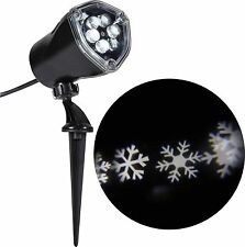 Snowflake projector outdoor christmas lights ebay lightshow led projection snow flurry christmas lights white wm5 m01 aloadofball Gallery