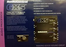 NEW Audio Control 6XS Concert Series 6-Channel Electronic Crossover, BLACK