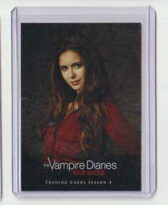 The Vampire Diaries Season 4 Character Trading Card Nina Dobrev as Elena