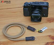 Handmade Rope Neck strap - Canon GX Nikon J V Pentax Sony A Fujifilm Olympus PEN