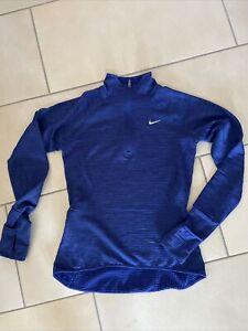 Nike Dri-Fit Laufshirt blau Größe XS lt.Etikett (ist aber eher S)