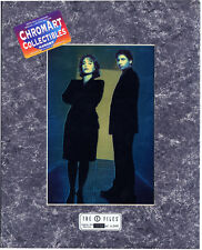 Limited Edition X-FILES SEASON ONE GALLERY CHROME ART Print (1996) NEW/SEALED!!!