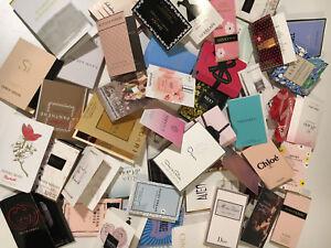 10 x New Random Women's Perfume Fragrance Samples - CHANEL HERMES DIOR etc
