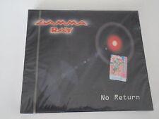 Gamma Ray - No return Brand New, Sealed, Slip-Case, Very Rare