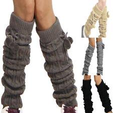Stulpen Damen Warme Beinstulpen Strick-Stulpe Beinwarmer Stulpen Legwarmer Grobstrickstulpen Damen Madchen 1 Paar Beinstulpen Stiefelstulpen Beinlinge Kurzstulpen Boot-Abdeckung Socken