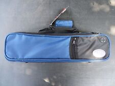Genuine Kaces Blue Ultra-light Poly B or C Flute Case NEW! Ships Fast!