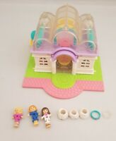 Vintage Polly Pocket BlueBird 1994 Light Up Bridal Salon Shop *COMPLETE*