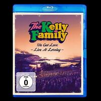 THE KELLY FAMILY - WE GOT LOVE-LIVE AT LORELEY (BLURAY)   BLU-RAY NEW+