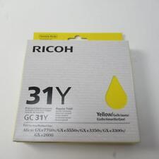 Genuine Ricoh GC 31K regular rendimiento-amarillo cartucho de tinta-en Caja Y Sellado
