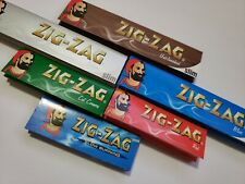 4x Pack - ZIG-ZAG - VARIETY - ROLLING PAPER - 69mm & KING SIZE
