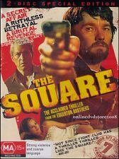 The SQUARE (David ROBERTS Joel EDGERTON) Aussie THRILLER Film (2 DVD SET) Reg 4
