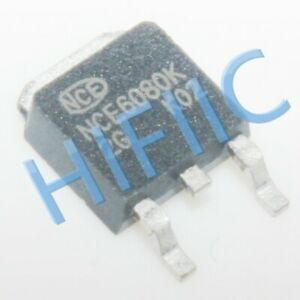 1PCS/5PCS NCE6080K 60V 80A TO-252 N-Channel MOS Tube Replaces SSF6808D