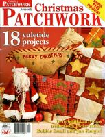 COUNTRY CHRISTMAS PATCHWORK  VOL 8 NO 6  MAGAZINE 2009.   PATTERN SHEET INSIDE