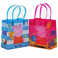 12 Peppa Pig Birthday Party Supplies Goody Goodie Gift Favor Candy Bags Kids Fun