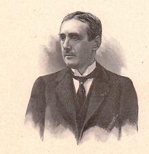 Portrait Maurice de Broglie Physique Physicien Académie des Sciences