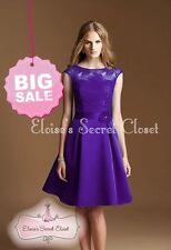 Satin Special Occasion Sleeveless Dresses Midi