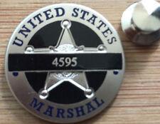 USMS - US Marshals Service Commemorative 4595 DUSM Derek Hotsinpiller Lapel Pin