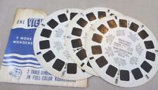 Vintage Viewmaster - Sawyer's 3 Reel Set 933 A/B/C Brave Eagle and Keena - 1956