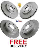 FOR VAUXHALL INSIGNIA 1.4, 1.8 2.0 CDTi 2008-2017 FRONT & REAR BRAKE DISCS SET
