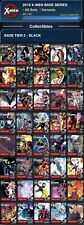 Topps Marvel Collect BLACK X-MEN BASE TIER 4 Complete 40-Card Set
