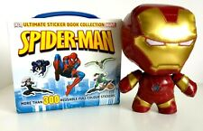 Funko Fabrikations Iron Man Soft Toy And Spider-Man Sticker Book Set Marvel