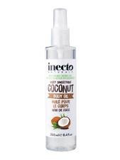 Inecto  Coconut  Body Oil With  Pure Organic Coconut Oil & Vitamin E 200 ml