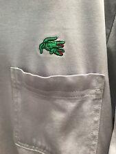 "Game Day ""Crocodile Lovers"" Polo Shirt~Lrg(More Medium)~Gray"