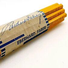 ANTIQUE UNUSED wood pencil LOT EBERHARD FABER DESSIN 1246 in box 1930's VINTAGE