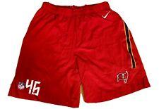 NFL Equipment Tampa Bay Buccaneers NIKE Dri Fit Team Issue Training Shorts XL