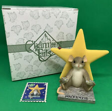 """Vtg Fitz & Floyd Charming Tales """"Star In The Making� MacKensie Mouse 4� Pristine"""